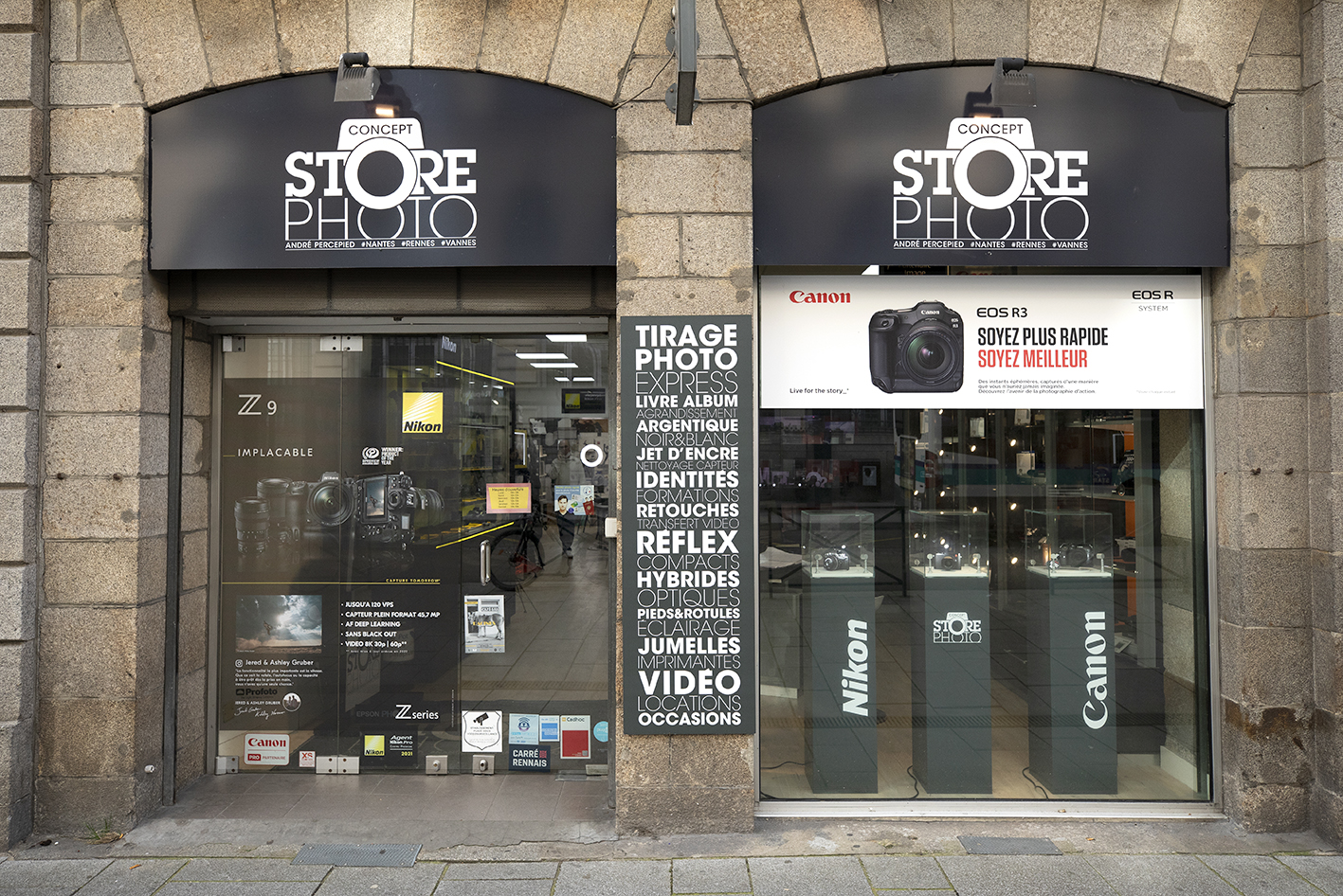 Photo magasin Rennes 3